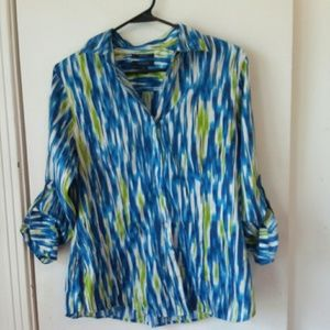 Westbound cotton blouse sz small